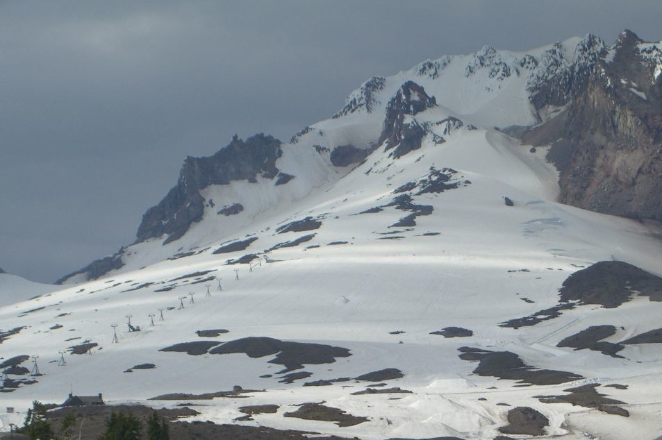 Timberline Lodge offers summer and fall skiing on Palmer Snowfield. Photo by Mark Hogan/Flickr. - ©Mark Hogan/Flickr