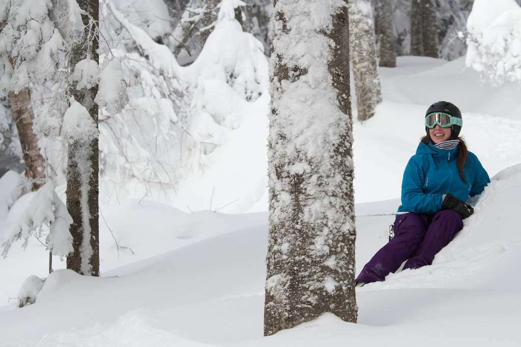 Deep, soft snow is sublime. Photo Courtesy of Mont Tremblant, flickr.