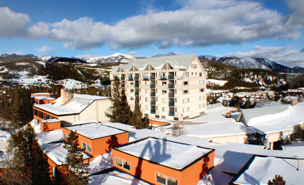 Big Sky offers slopeside lodging. Photo courtesy of Big Sky Resort.