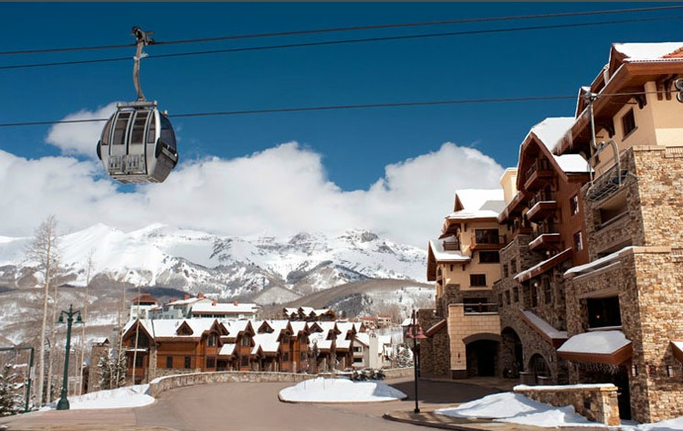 Arriving at the Hotel Madeline - ©Hotel Madeline Telluride