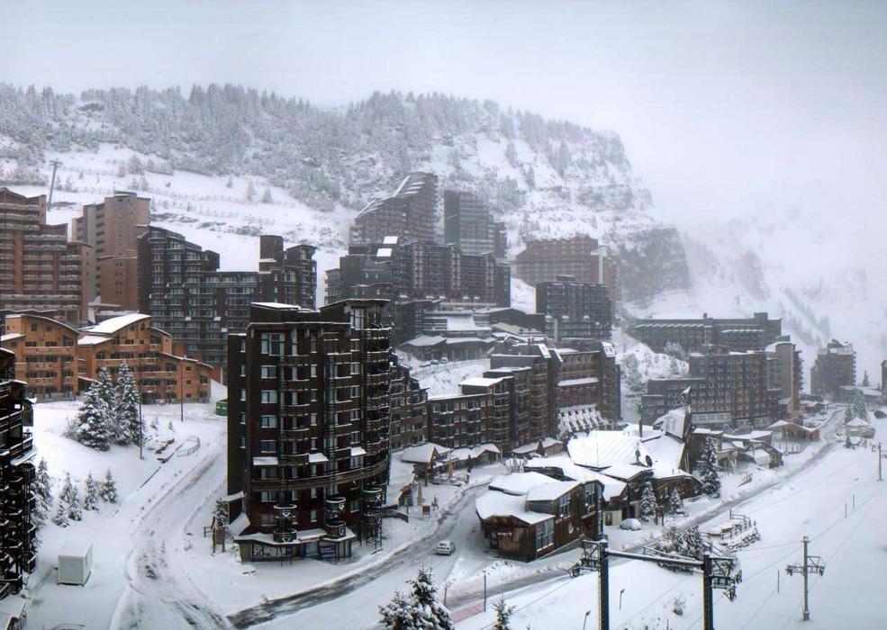 Chutes de neige du 27 octobre 2012 - Avoriaz