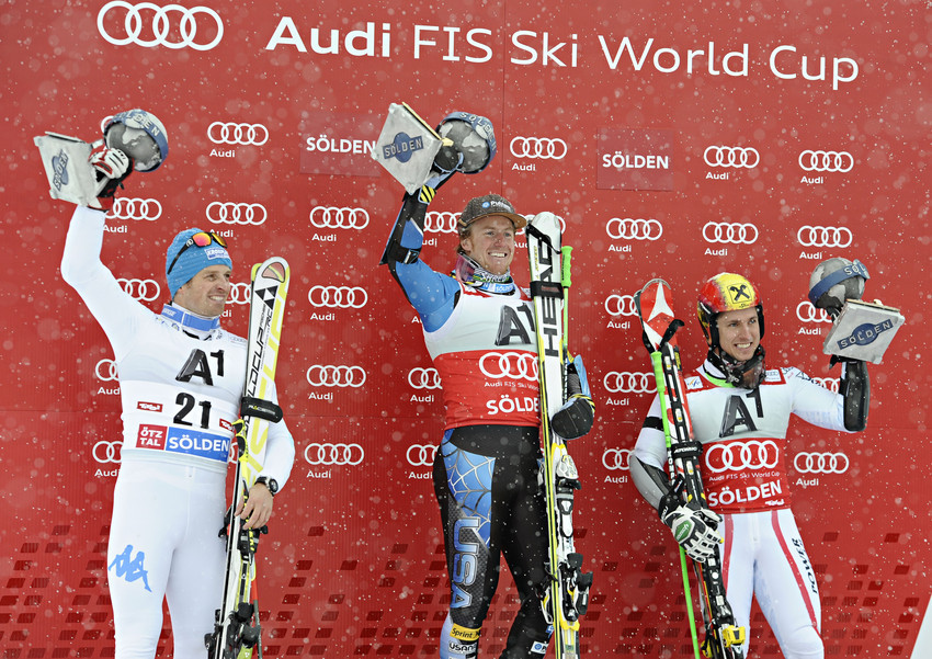 Winners Soelden 2012 - ©Michel Cottin/AGENCE ZOOM