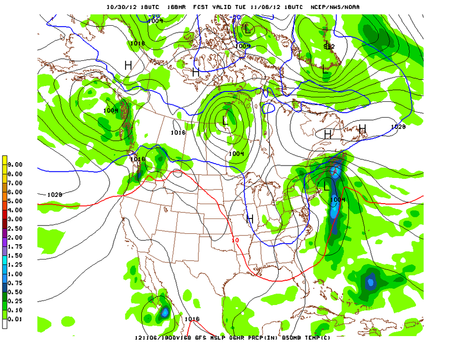 The tail end of Hurricane Sandy could bring a bit of snow to Northeast ski resorts.