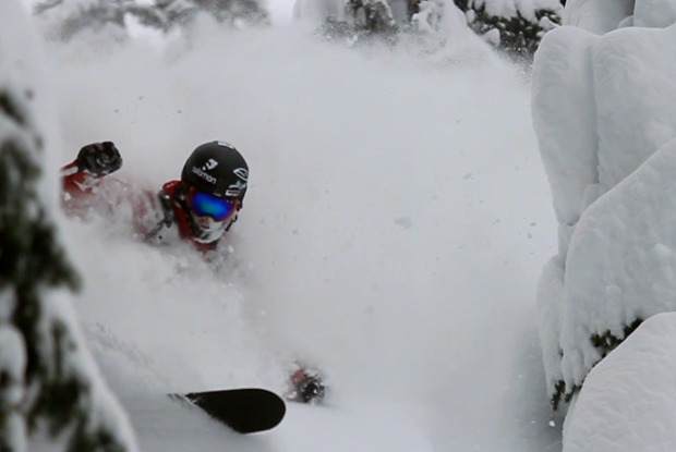 Bottomless powder for the Freeski TV crew