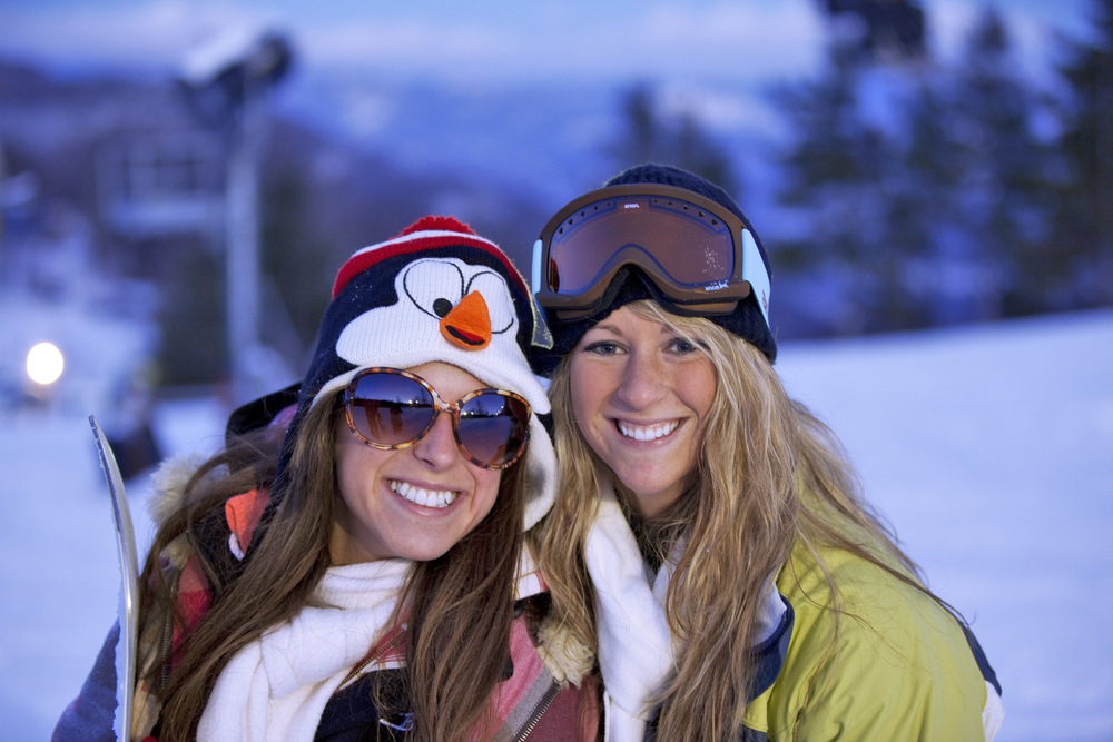 Saving money always makes people smile. Photo Courtesy of Catalooche Ski Area.
