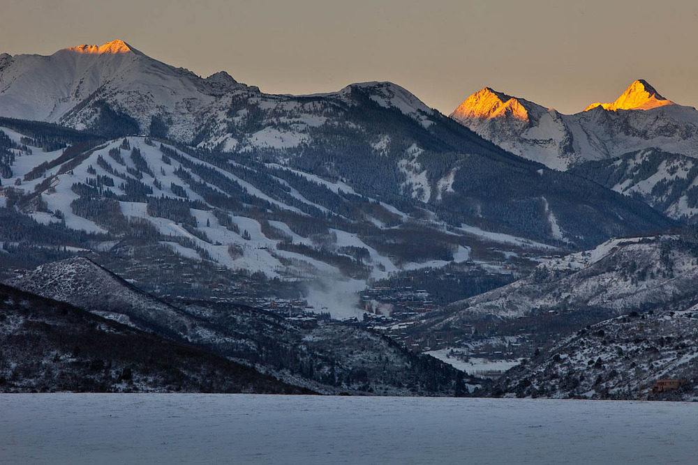 Snowmass looks good following Winter Storm Brutus.