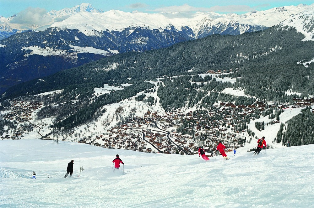 Hitting the slopes in Meribel, France - ©Meribel Tourist Office