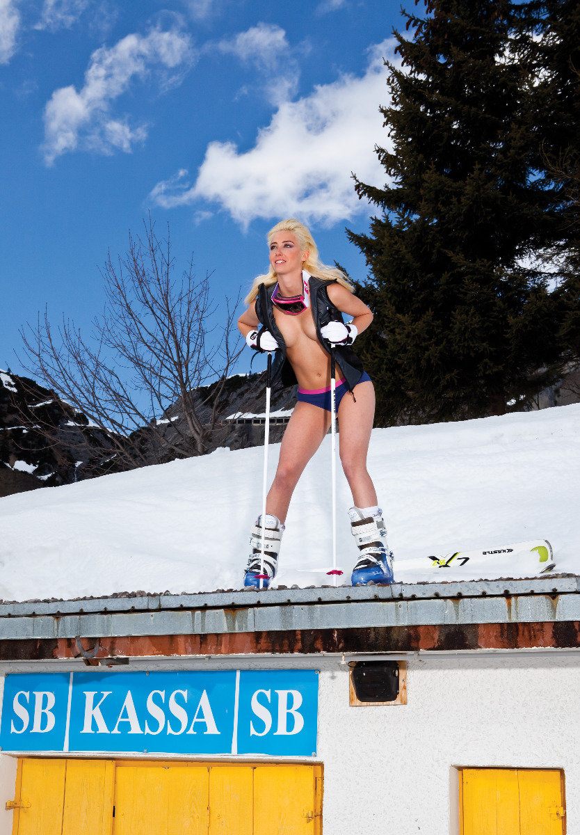 Ski Instructor Calendar 2013