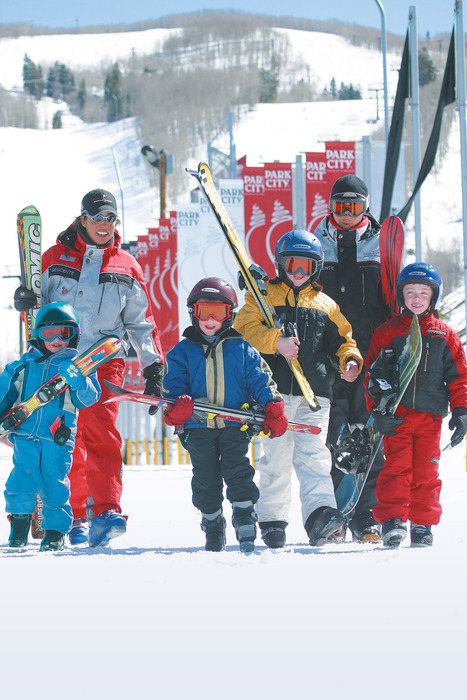 Skiing lessons in Park City, Utah