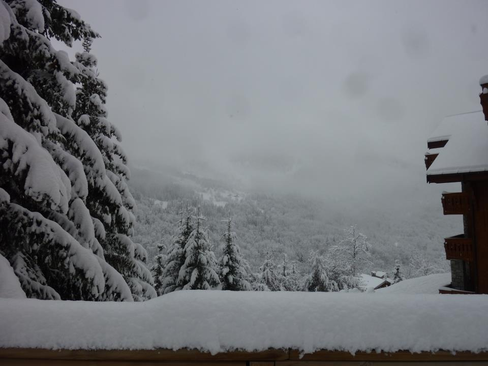 Fresh snow in Meribel Nov. 29, 2012 - ©Meribel