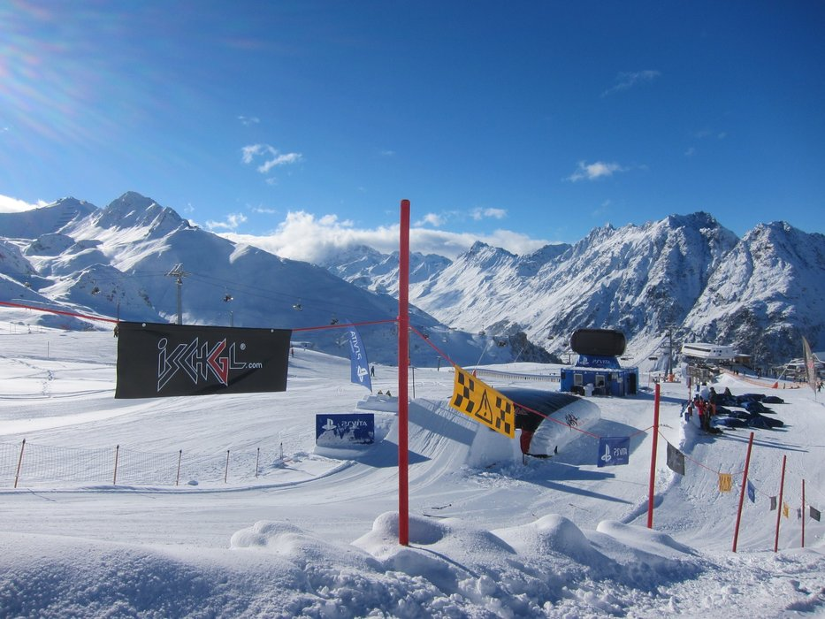 Snowpark at Ischgl