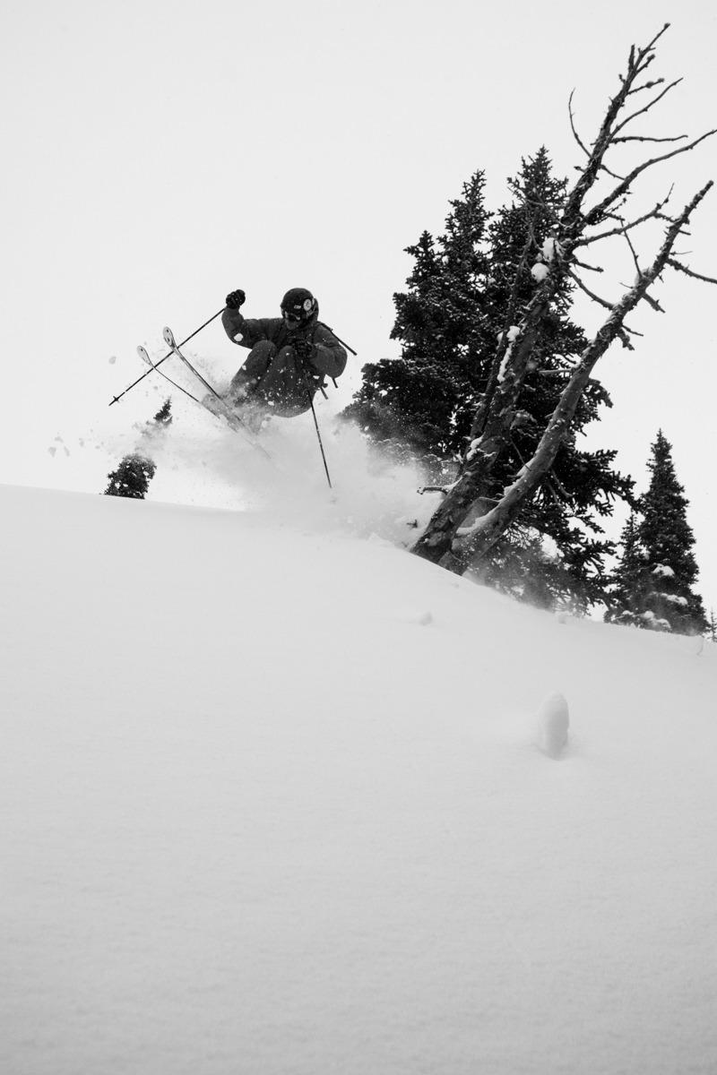 Skier Wayne Grevey