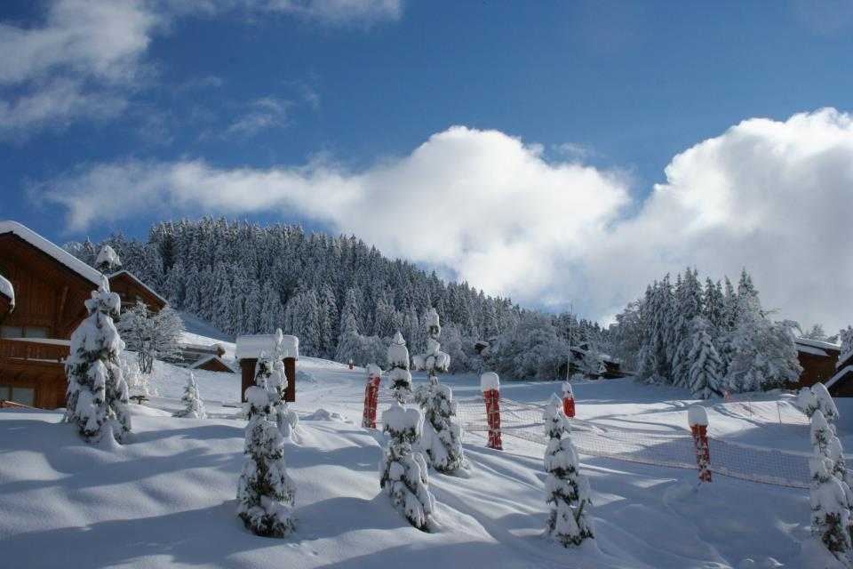 Piste du Doron, Meribel Dec. 6, 2012. - ©Emilie Builly/Meribel Tourisme