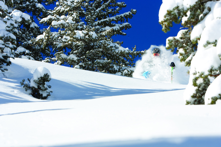 """Enter the Snowbird """"Bird's Eye View"""" Sweepstakes and you could be ripping powder in Little Cottonwood Canyon this season."""