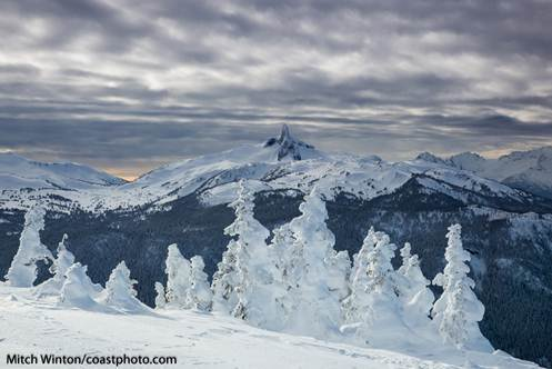 Black Tusk at Whistler. Photo by Mitch Winton/Coastphoto.com.