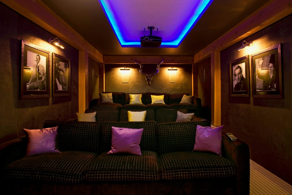 Theatre room at Bighorn, Revelstoke