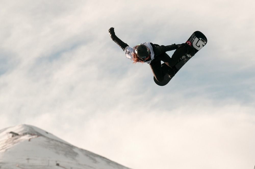 Not only does he go huge, Dew Tour superpipe champ Shaun White just makes it look easy and fun. - ©Josh Cooley