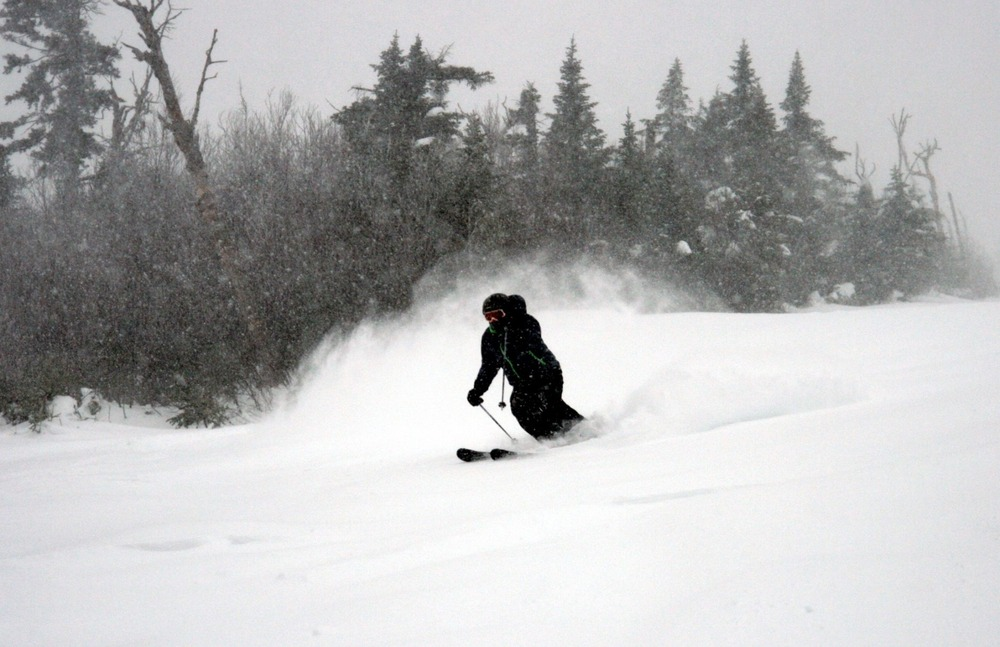 The storm has reached Maine, Sugarloaf is prime and ready for powder. 12/27/2012