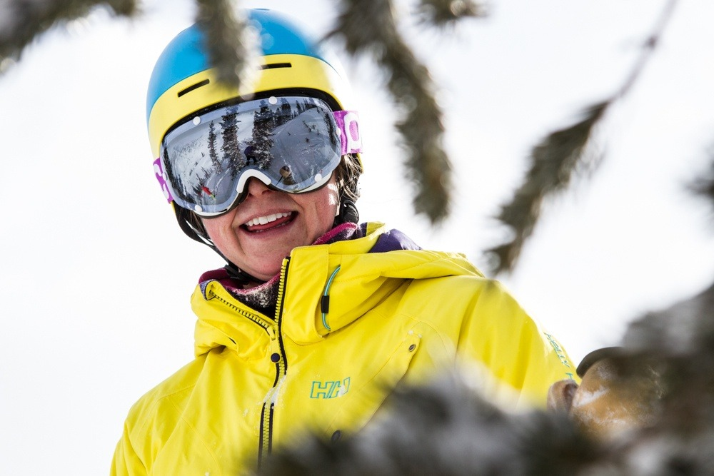 Kaylin Richardson is all smiles.