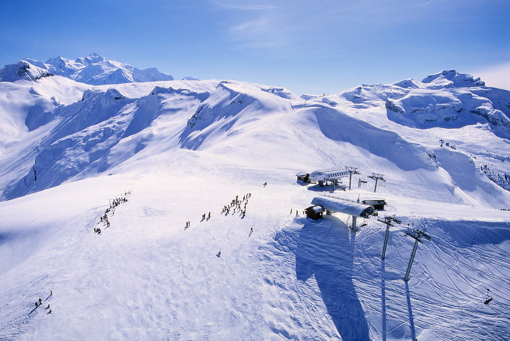 Grand Massif ski area - ©Flaine