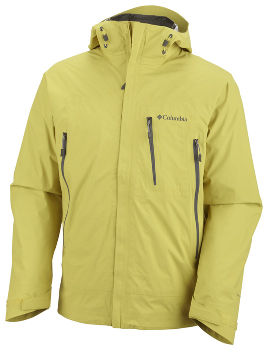 Columbia Sportswear's original 3-in-1 parka design lives on in the new Ultrachange jacket and tips the scale at scant 24 oz (11.2 oz in the shell, 12.8 oz in the liner). Available in men's and women's editions. - ©Columbia Sportswear
