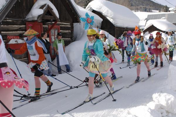 Winter gets wacky during the annual Alley Loop Nordic Ski Race in Crested Butte, CO - ©Courtesy of Gunnison-Crested Butte Tourism Association