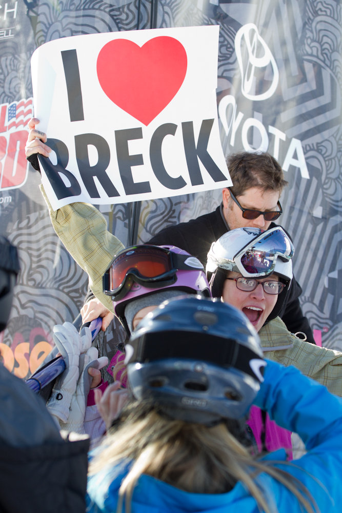 Fans come out in full force at Breckenridge. Photo By Liam Doran