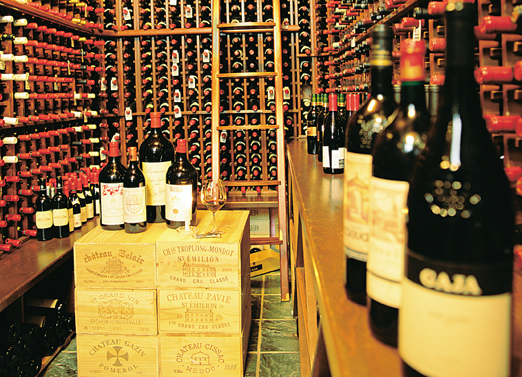 Post Hotel in Lake Louise boast a 26,000-bottle wine cellar. Photo G.Gerla, courtesy of The Post Hotel. - ©The Post Hotel and Spa