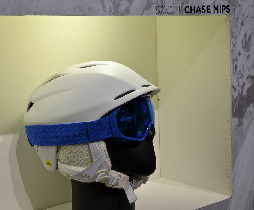 Scott helmet with MIPS technology