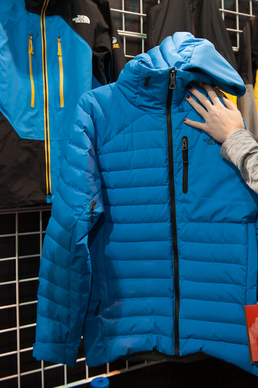 The Steep Series Down Jacket from The North Face is great for backcountry enthusiasts headed out into the harshest of conditions.