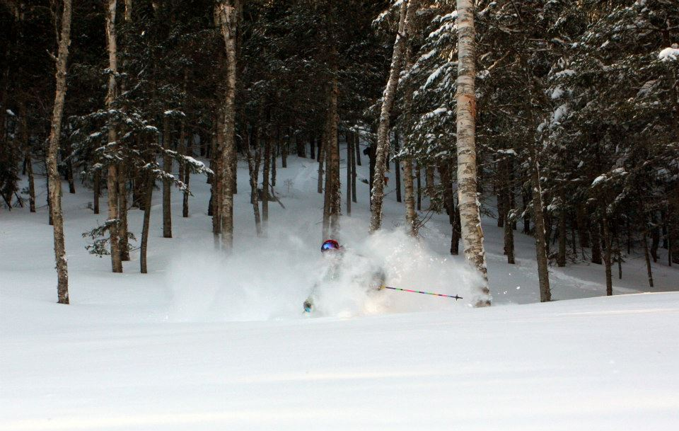 Deep powder at Sugarloaf from Nemo. - ©Sugarloaf/Facebook