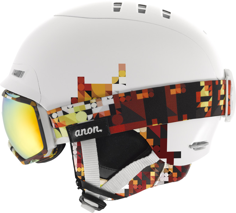 The anon. women's A2 combination with the Tempest Goggle and Bridger Helmet. - ©anon. Optics