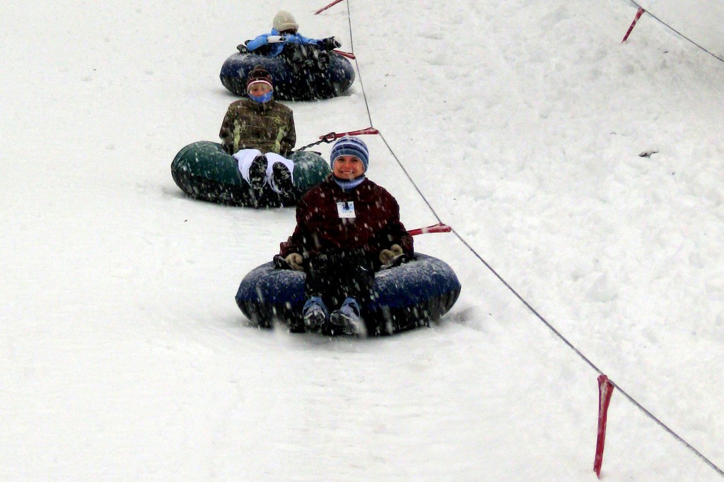 Tubing lift at Mt. Hood Skibowl. Photo by PDXdj/Flickr.