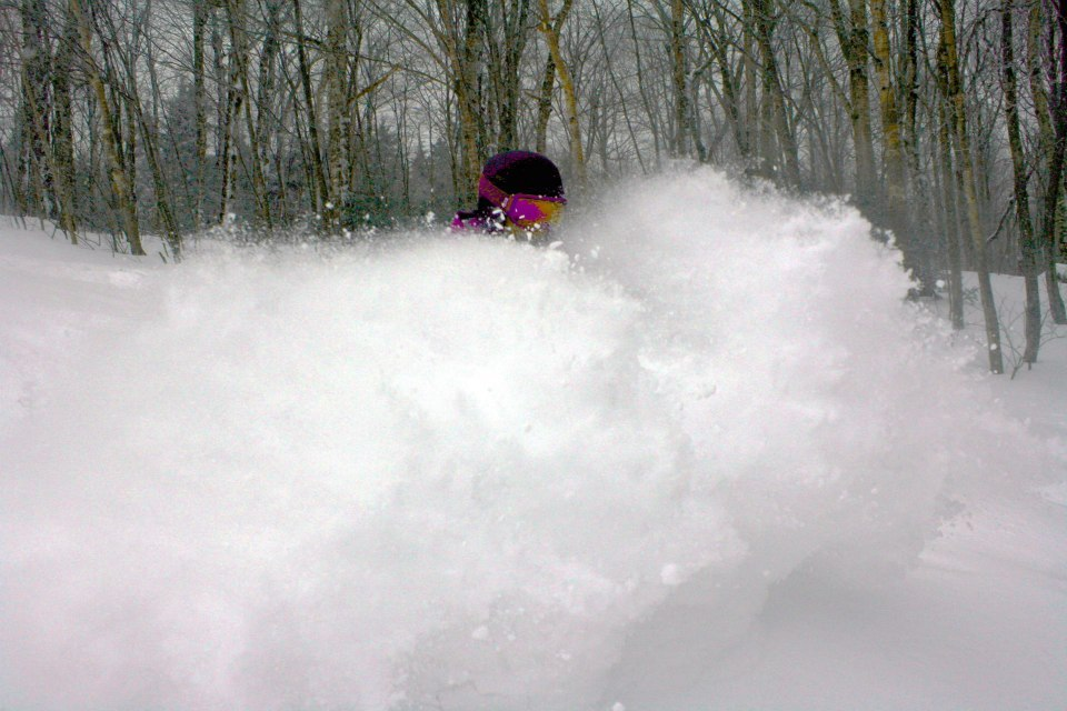 Bolton Valley is a hidden gem in Northern Vermont, just check out this photo.