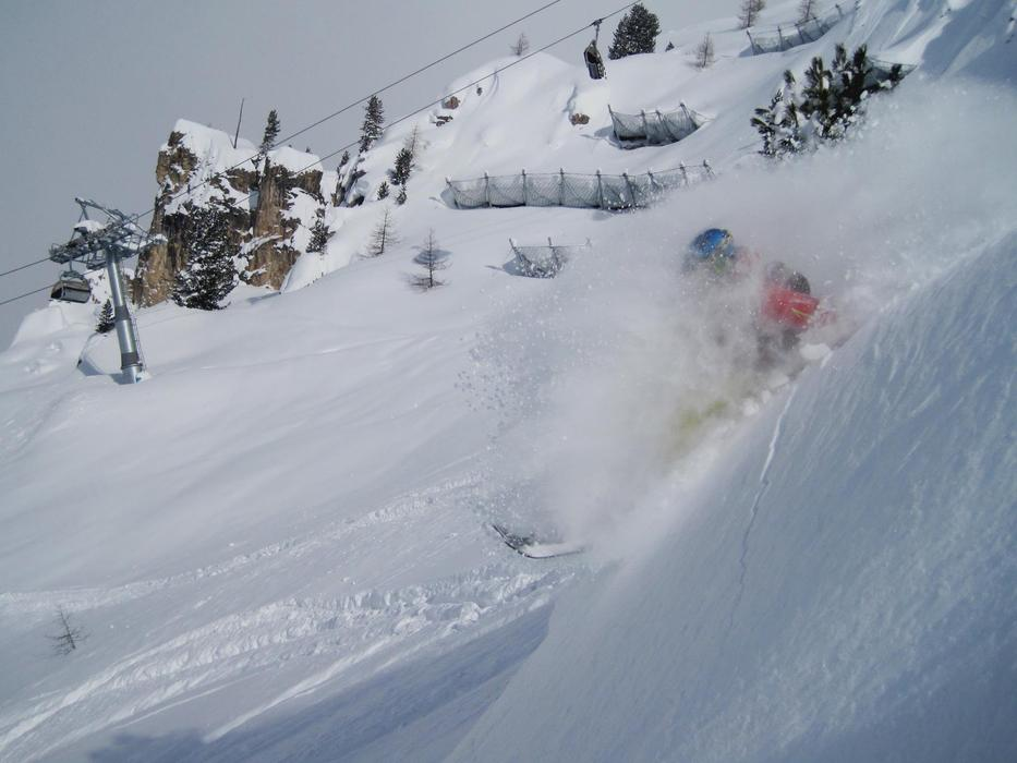 Gregers Gram Rygg scored great powder on his trip to Arabba, Italy, February 23rd to 27th