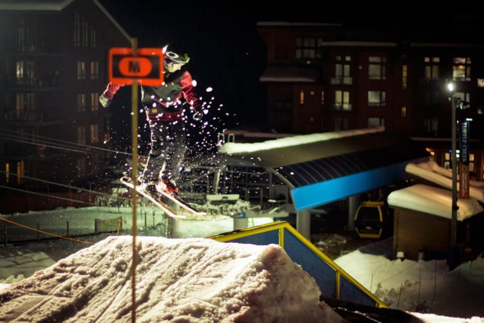 Rail park at Revelstoke Mountain Resort. Photo by Ian Houghton, courtesy of Revelstoke Mountain Resort.