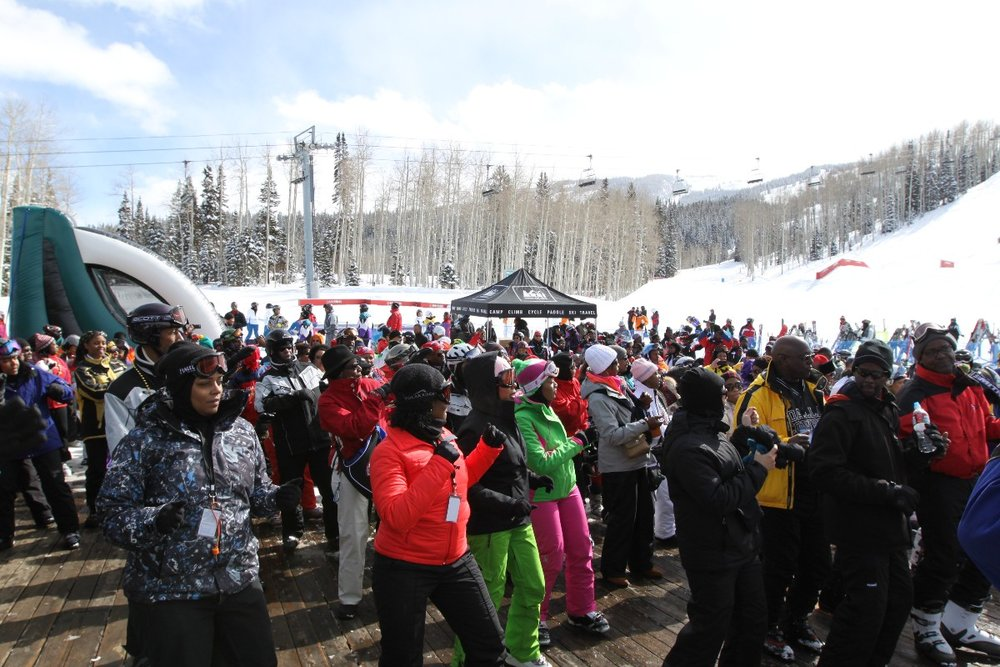 Snowmass hosted the 40th anniversary of the Black Ski Summit - ©Lawanda Joseph
