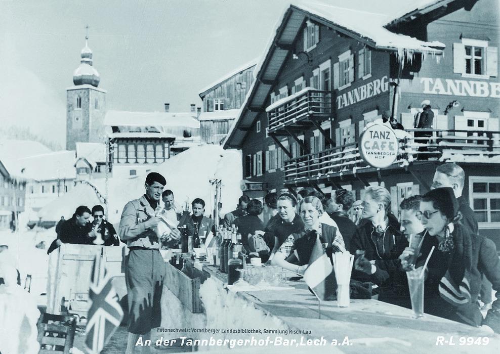 Tanzcafe Arlberg, Lech-Zuers