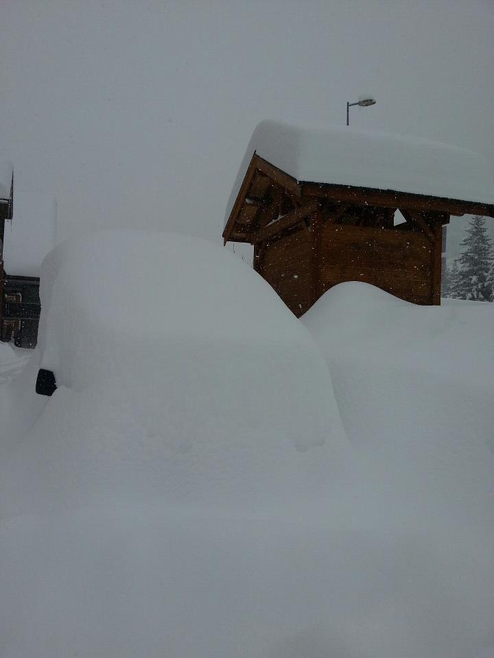 Serre Chevalier snowfall March 18, 2013