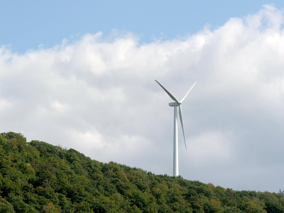 Jiminy Peak's windmill produces more than half the area's electricity.