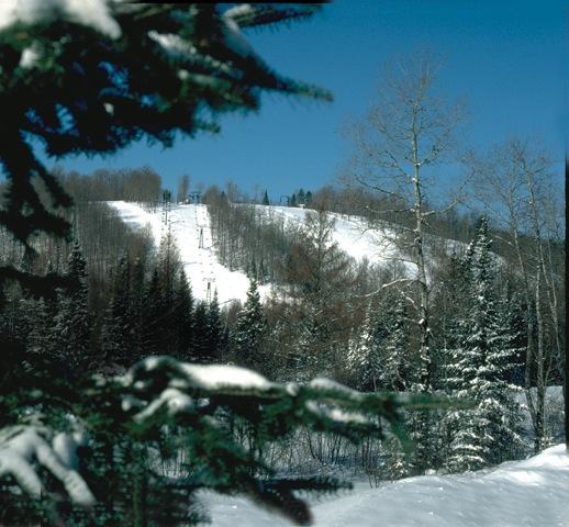 Ski Brule in Michigan.