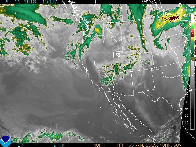 Storms target the west. - ©NOAA