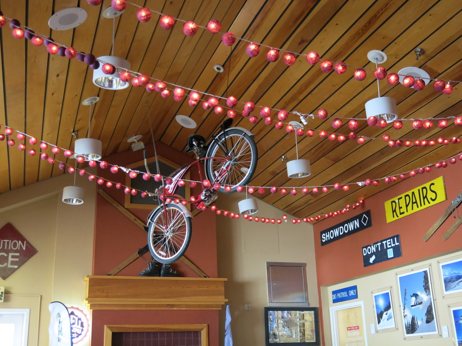 The Martini Tree is the center of the apres scene at Taos. - ©Donny O'Neill