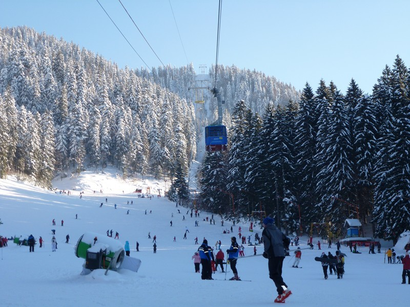 Poiana Brasov ski in Romania