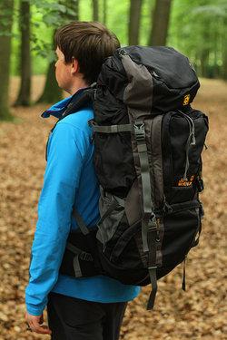JACK WOLFSKIN, AGADIR II hikingcamping backpack $110.00