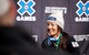 Jenny Owens, 3rd place women's Skier X. Photo by Sasha Coben