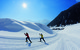 Crosscountry skiers in Oetztal.