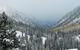 Vue panoramique de Snowbird, Utah