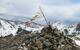 Tibetan prayer flags at the top of Kachina Peak. - ©Donny O'Neill