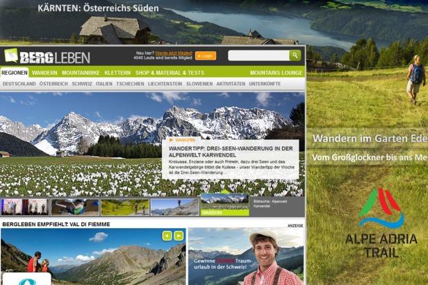Screenshot bergleben.de - ©bergleben.de
